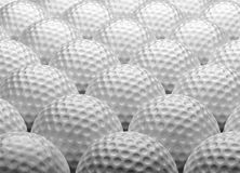 Golf Balls. (computer generated image Royalty Free Stock Image