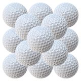 Golf Balls Pyramid (20.2 MegaPixels) Royalty Free Stock Photo