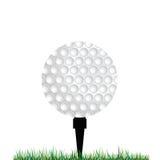 Golf balls vector illustration Royalty Free Stock Photos