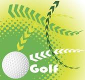 Golf banner Royalty Free Stock Photos