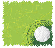 Golf banner Stock Image