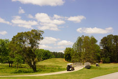 Golf bij Tuinen Calloway Stock Afbeelding