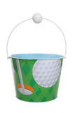 Golf Bucket (Pail) Stock Image