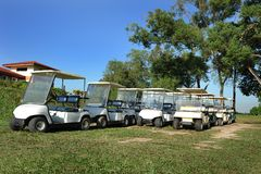 Golf Buggy Stock Photography