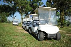 Golf Buggy Royalty Free Stock Images