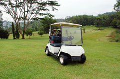 Golf Buggy Stock Photo