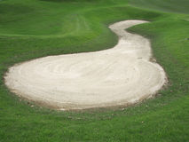 Golf bunker Stock Images