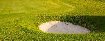 Golf bunker Stock Photos