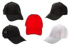 Golf cap on white background Stock Photos