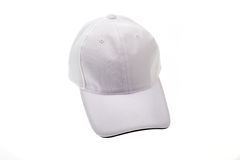 Golf cap white for man or woman Royalty Free Stock Image