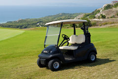 Golf car Stock Image