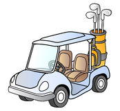 Golf car Royalty Free Stock Photography