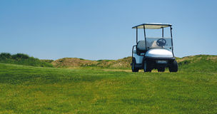 Golf car Stock Image