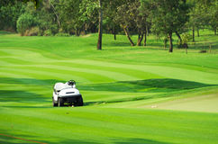 Golf car Stock Photography