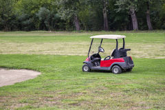 Golf car 2 Royalty Free Stock Photo