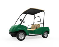Golf Car Isolated Stock Photography