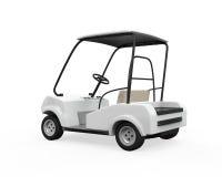 Golf Car Isolated Stock Photos