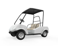 Golf Car Isolated Royalty Free Stock Photography