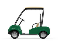 Golf Car Isolated Royalty Free Stock Photo