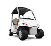 Golf Car Isolated Stock Images