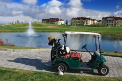 Golf cart Royalty Free Stock Photo