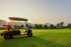 Free Golf Cart Royalty Free Stock Images - 49860739