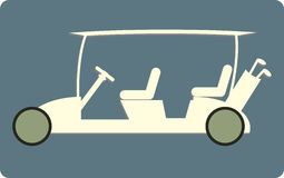 Golf cart or golf car icon Royalty Free Stock Photo
