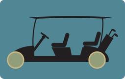Golf cart or golf car icon Stock Photo