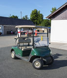 The golf cart Stock Photography