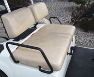 Golf Cart Interior Stock Photos