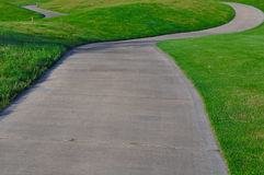 Golf Cart Path Royalty Free Stock Photo