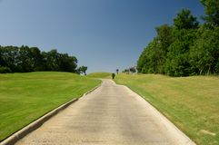 Golf Cart Path Royalty Free Stock Image