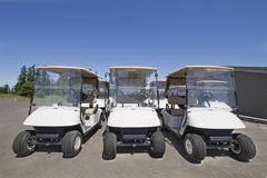 Golf Carts 2 Royalty Free Stock Photo
