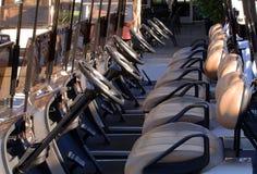 Golf Carts Stock Image