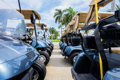 Golf carts Stock Photos