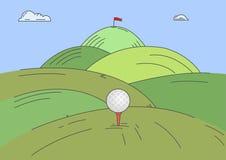 Golf challenge Stock Photo