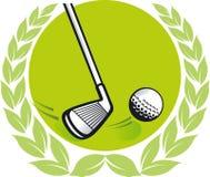 Golf champion Stock Photography