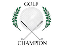 Golf Champion 2 Royalty Free Stock Photography