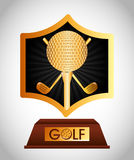 Golf championship design. Illustration eps10 graphic Royalty Free Stock Photo