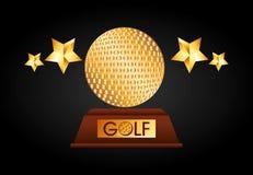 Golf championship design. Illustration eps10 graphic Stock Image