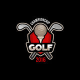 Golf championship 2016. Golf championship 2016 vector illustration background  image banner Stock Photo