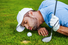 Golf cheats. Royalty Free Stock Photos