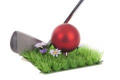 Golf and Christmas Stock Photos