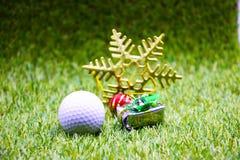 Golf Christmas time for golfer