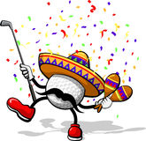 Golf Cinco de mayo Royalty Free Stock Image