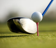 A golf club Stock Images