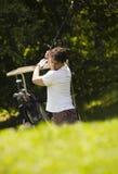 golf club fotografia stock
