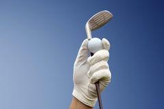 Golf club against a blue sky Stock Photography