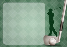 Golf club background Stock Photos