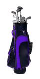 Golf club bag. Royalty Free Stock Image